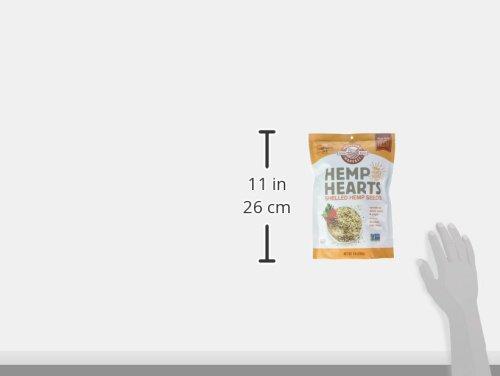 Manitoba Harvest Hemp Hearts Shelled Hemp Seeds, 16oz; 10g Plant-Based Protein & 12g Omegas per Serving, Whole 30 Approved, Vegan, Keto, Paleo, Non-GMO, Gluten Free 10