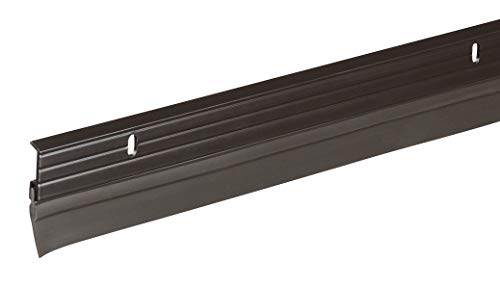 Frost King Premium Aluminum And Vinyl Door Sweep 1-5/8-Inch by 36-Inches, Brown