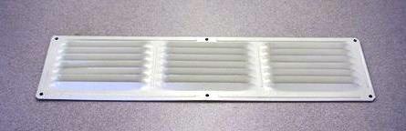 4'' x 16'' Soffit Vents - White - Box of 12
