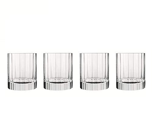 Luigi Bormioli - Bach - Glass Tumblers Set of 4 - SON.hyx Crystal - Highly Resistant to Breakage - Dishwasher Safe - Made in Italy