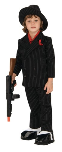 Lil' Gangster Costume, Small
