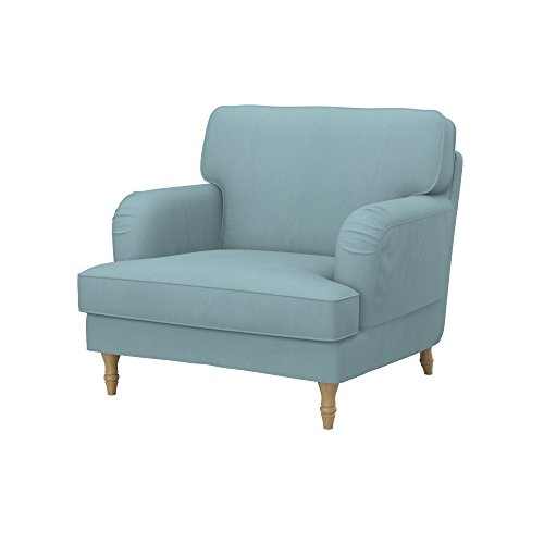 Soferia - IKEA STOCKSUND Funda para sillón, Eco Leather Mint ...