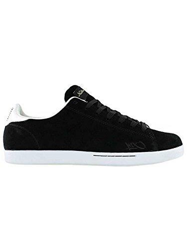 K1X - Zapatillas de cuero para hombre, color negro, talla 8.5 blanco/negro