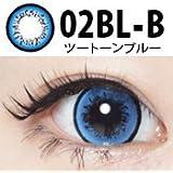 コンタクトフィルム ドクターカラコン ツートンブルー/02BL-B