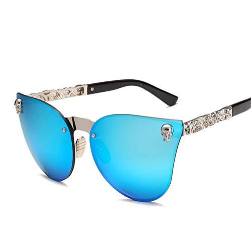141 55 moda de sol creativas americanas y Gafas Gafas 145 NIFG mm B 骷髅 europeas sol de de q8w6xzWZc