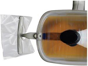 Mydent Defend Light Handle Sleeve 4'' x 5.75'' Clear, 500/bx, 36 bx/cs BF-5000