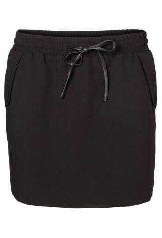 Vero Moda Falda Corta Snow Mini Skirt 15 Black Negro S: Amazon.es ...