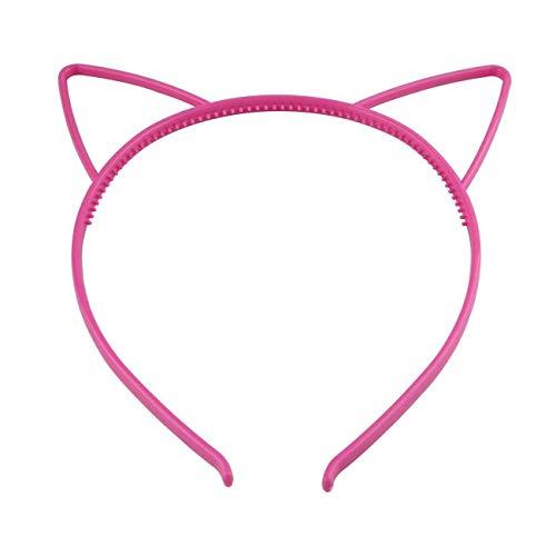 Cute Wowen Girl Kids Plastics Headband Hair Band Cat Ear Dress Party (Style - T)