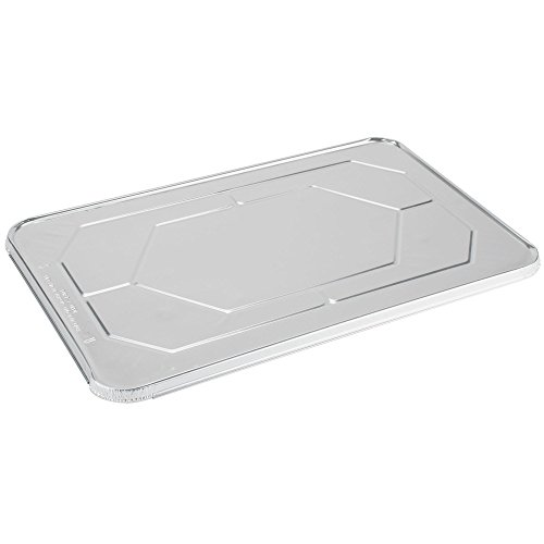 Crystal by crystalware FLFSD50 Premium Aluminum Foil Steam Lids, Full Size, 20