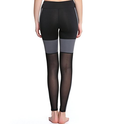 Zhhlaixing Women Black Athletic Trousers Workout Fitness Sports Yoga Leggings Pants Black