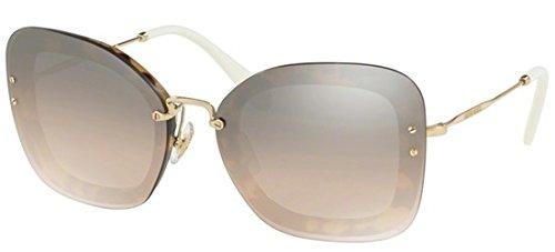 f6b87c8fd7b0 Miu Miu MU02TS 7S04P0 Light Havana MU02TS Rectangle Sunglasses Lens  Category 3