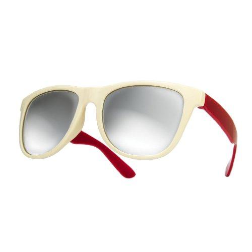 nbsp;lente red sol 4sold de Unisex espejo mirror sol marca de o duo gafas UV400 New gafas vnZT1Zg