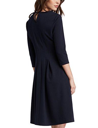 Vestido Fashion dusty Apart Pink print Midnightblue Para midnightblue Mujer Midnightblue Azul f17Hg
