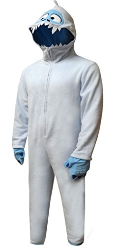 Abominable Snowman Costumes (Briefly Stated Men's Bumble Uniform Union Suit, Blizzard Blue, M)