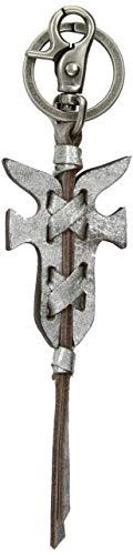 Logo Silver Chain - FRYE Logo Key Chain, silver