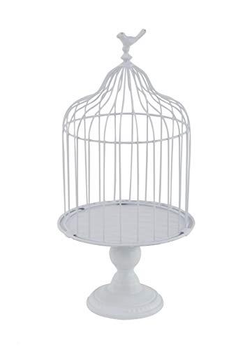 Deco 79 74884 Farmhouse Metal Birdcage Planter, 11
