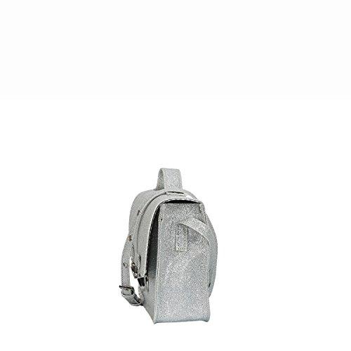 Miniseri , Borsa Messenger  argento argento