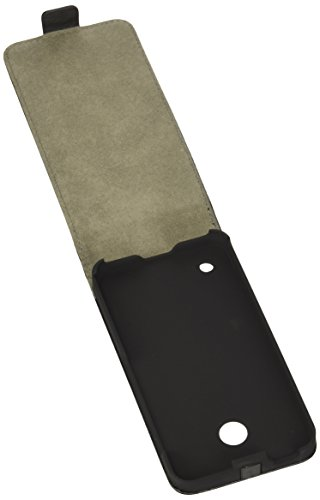 Fonex FLIPC1006B 4.5 Libro Negro funda para teléfono móvil - Fundas para teléfonos móviles (Libro, Microsoft, Lumia 630/635, 11,4 cm (4.5), Negro)