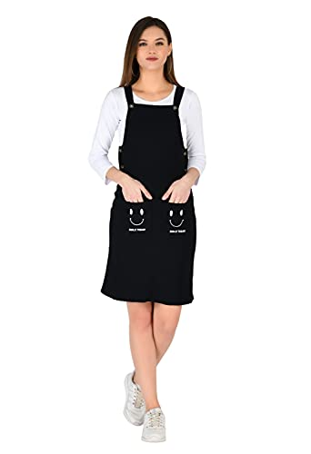 AllenQueen Pinafore/Dungaree Office Wear | Festive Stylish Dress for Women | Girls