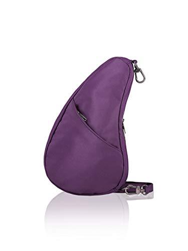 (AmeriBag Healthy Back Bag tote Microfiber Large Baglett (Black Plum))