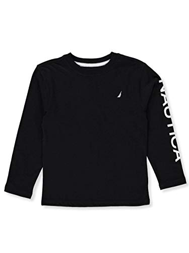 Nautica Big Boys' L/S T-Shirt - Black, ()