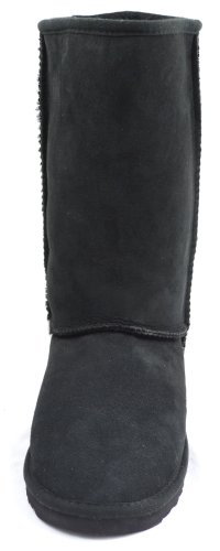 Boot Tall Aussie Luxury Ladies 100 Sheepskin Black xXqTX4w