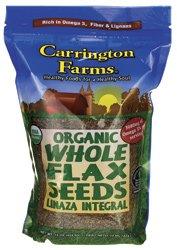 Carrington Farms Whole Flax Seeds (6x15OZ )