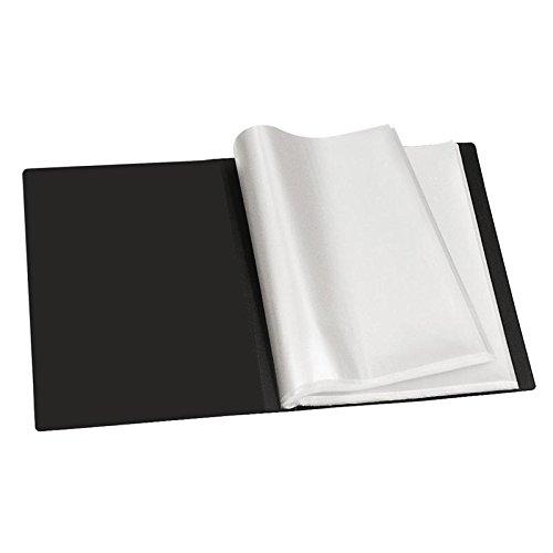 Sichtbuch A4 100 Hüllen schwarz