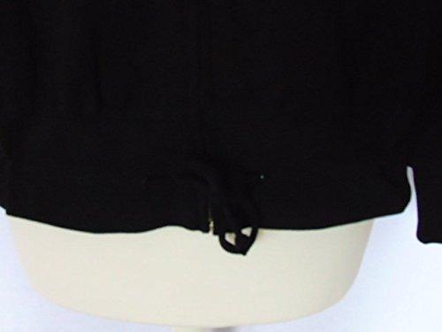 Sports D'exercice nbsp;bnwt 12 womens Taille Veste Ladies Reebok Survêtement De Top Leisure Noir 8qznw7R