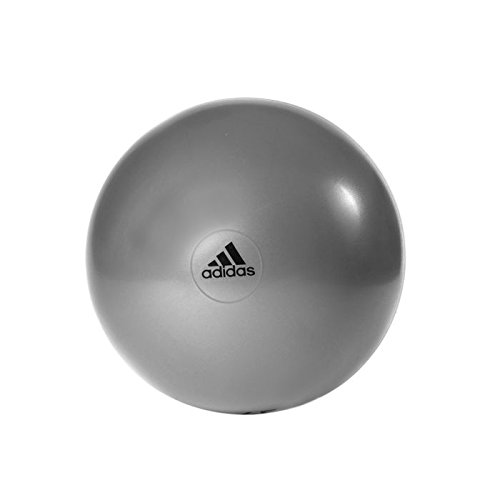 ADIDAS anti burst gym ball 75cm + hand pump [grey]