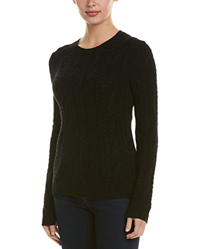 Brooks Brothers Womens Cashmere Sweater, Xs, Black