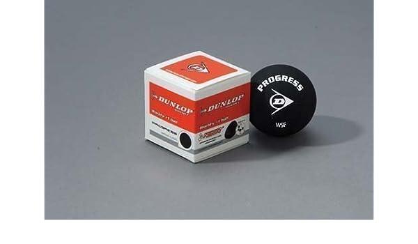 Dunlop Max Progress Squash Balls 12 Pack