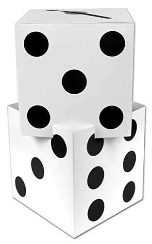 Beistle 54728 3-D Dice Stacking Centerpiece, 17
