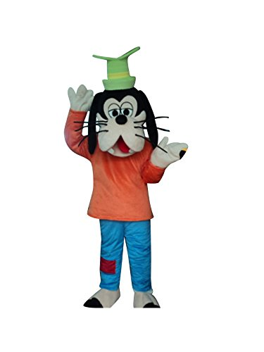 Sinoocean Goofy Dog Adult Mascot Costume Cosplay Fancy