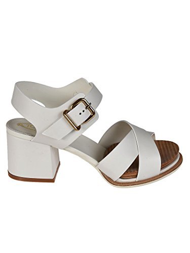 Tod's Women's XXW19A0Y510NB5B001 White Leather Sandals