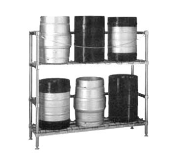 Metro KR365DC HD Super Beer-Keg Handling Rack