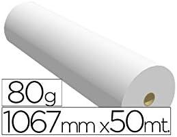 Navigator 1067X50 80 - Papel reprografía para plotter, 1067 mm x 50 m: Amazon.es: Oficina y papelería