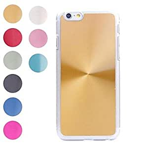 JJE Delicate Appearance Design PC and Metal Hard Cover for iPhone 6 (Assorted Colors) , Dark Blue