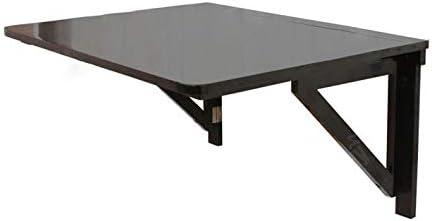 SoBuy® Mesa de cocina, mesa plegable de pared, mesa de madera ...