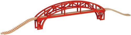 超激安 【米国正規商品並行輸入】ネームトレイン 木製おもちゃ Steel Steel 44 Arch 木製おもちゃ Bridge with approach track - 44 inchesアーチ型橋梁 B000JQR9WW, 横濱スカーフ工房:23f98f28 --- test.ips.pl