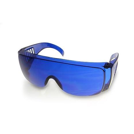 ad55be93e71 Golf Ball Finder Lunettes Surligner Blanc Lunettes de Soleil Bleu Lentilles