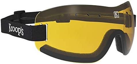 KROOPS 13-Five Goggles – Eyewear Protection from Wind, Dust, Snow, and Rain. Great for Skydiving, Cycling, Ski, Snowboard, and Other Sports. Safety Goggles That Look and Feel Great.