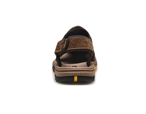 Air Brown Shoes Sandalias Hollow Beach Shoes Summer Baotou qTn0wgP8X