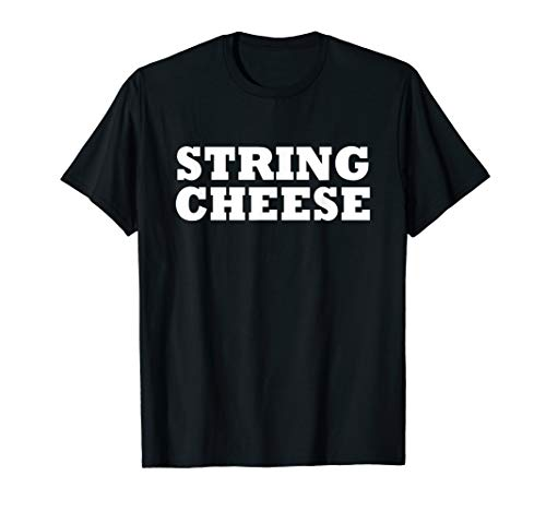 String Cheese Easy Halloween Costume Cute Funny Party Shirt -