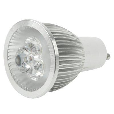 Luces Bombillas, Bombillas Led, GU10 3W Brillo ajustable del blanco 3 LED del proyector del bulbo, 220V AC: Amazon.es: Hogar