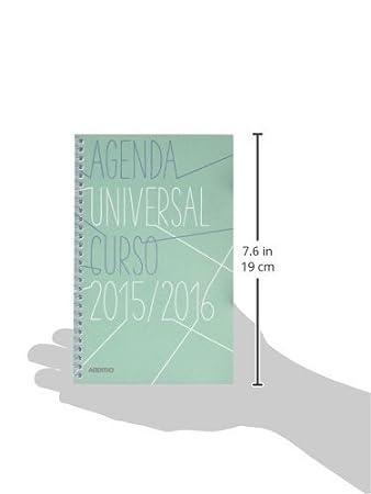 Ingraf A142 - Agenda universal de 12x18.5 cm: Amazon.es ...