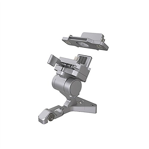 Kanzd DJI CrystalSky Remote Controller Mounting Bracket for Mavic Pro Phantom 3 4 (Sliver)