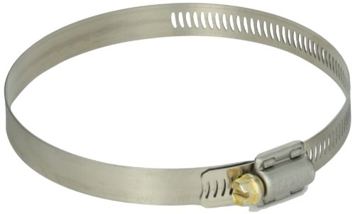 1//2 Band Pack of 10 HPS SSWC-46-70x10 HPS Stainless Steel Worm Gear Liner Hose Clamps SAE 36 Effective Size 1-13//16-2-3//4