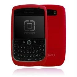 (Incipio Technologies dermaSHOT Silicone Case for BlackBerry Curve 8900 (Molina Red))