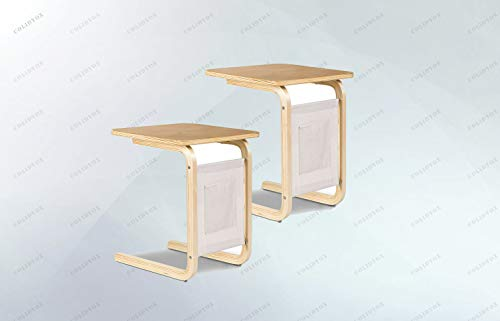 Bentwood Sofa - COLIDYOX>>>2 Bentwood Sofa End Side Table Coffee Table The Square Side Table Made of Birch Curve Wood Craft That is not only Solid but Elegant to Match Your Furniture Set.